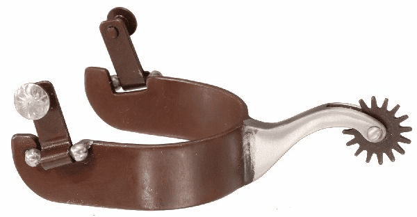 Antique Brown and Stainless Steel Spur