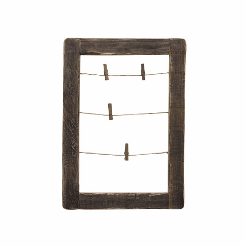 "Antiqued Vertical Frame - 12"" x 8"""