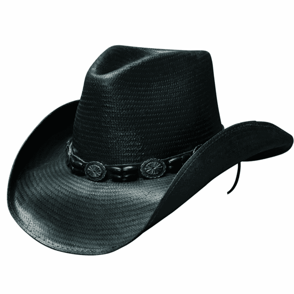 Black Hills - Shapeable Panama Straw Cowboy Hat