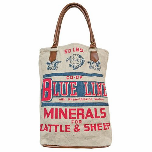 Blue Line Rancher Tote