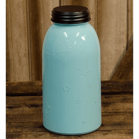 Blue Star Jar, Large