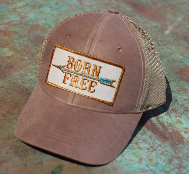 BORN FREE Trucker Cap