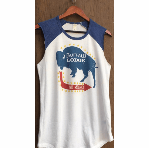 Buffalo Lodge Sleeveless Tee