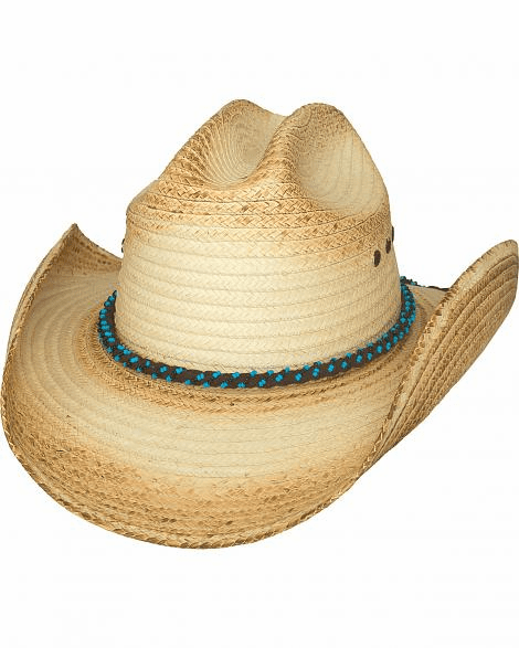 Bullhide All Eyes On You Palm Leaf Straw Cowgirl Hat