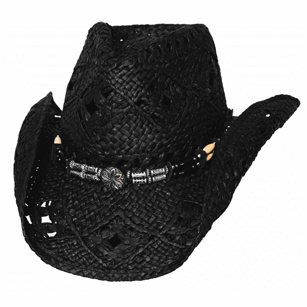 Bullhide All Summer Long - Straw Cowboy Black