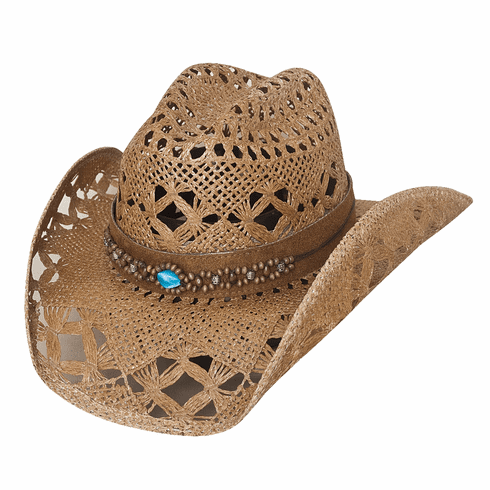 Bullhide Bean Me Up Straw Cowgirl Hat