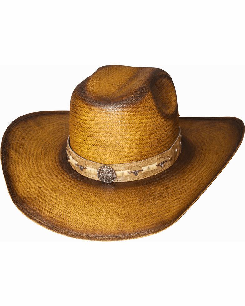 Bullhide Cattle Drive Straw Cowboy Hat