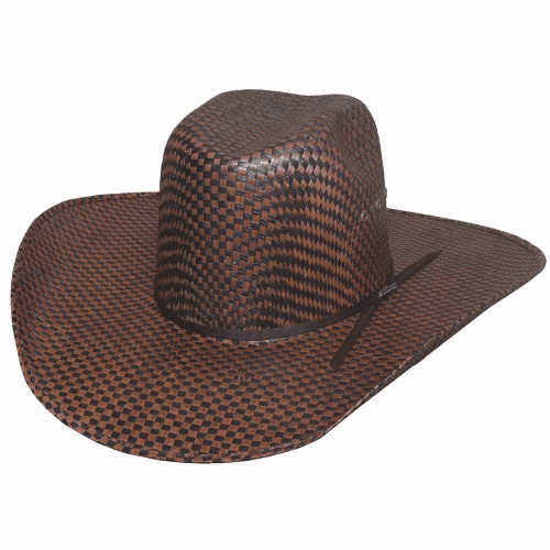 Bullhide Cowboy Capital - (50X) Straw Cowboy Hat Brown