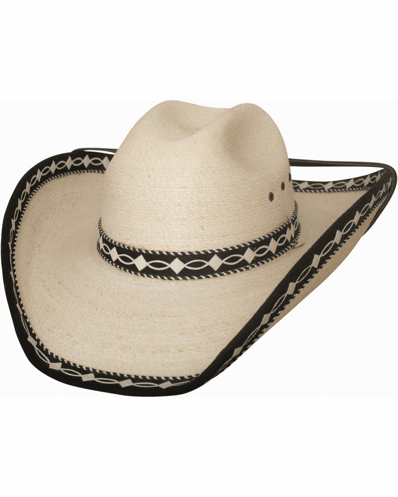 Bullhide Custom Made Palm Leaf Cowboy Hat