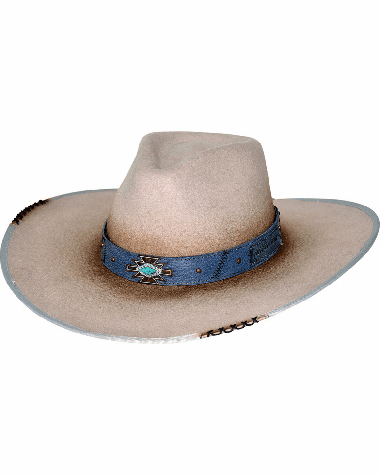 Bullhide Messed Up Wool Cowboy Hat Silver Belly
