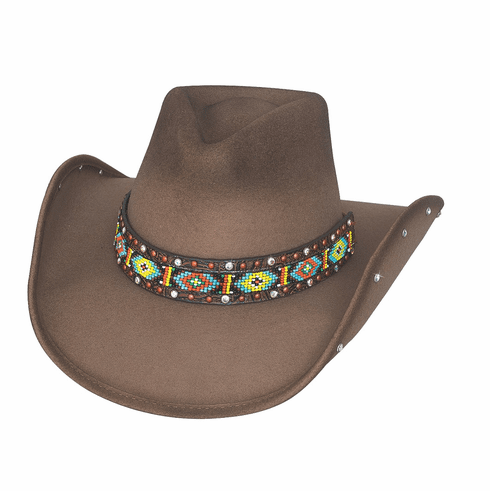 """Bullhide Sassy Cowgirl Collection """"Bad Axe River"""" Felt Hat"""