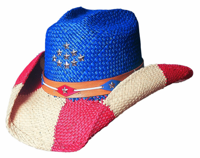 Bullhide® The Patriot Straw Hat
