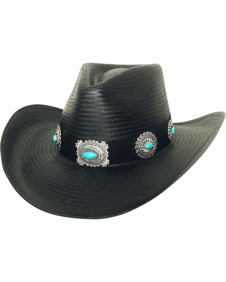 Bullhide Women's A Night To Shine Straw Cowgirl Hat
