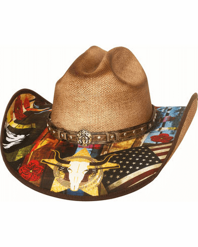 Bullhide Women's I Need A Drink Straw Hat