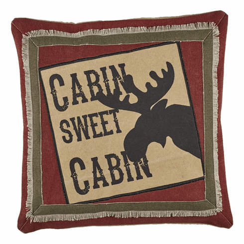 Cabin Sweet Cabin Pillow