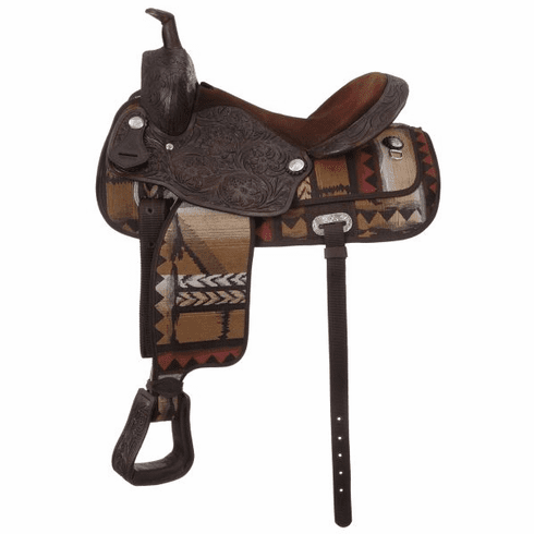 "Calico Trail Saddle Package 17"" - 9KS1407-190-0"