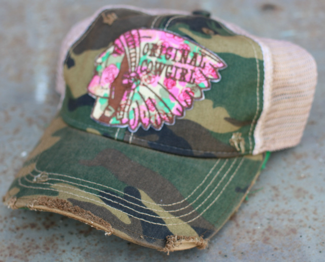 Chief Cap  Camo