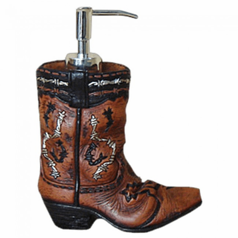 Cowboy Boot Soap Dispenser