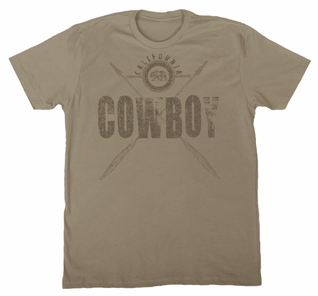 Cowboy with Crossed Arrows T-shirt