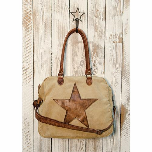 Cowgirl Starred Canvas Bag