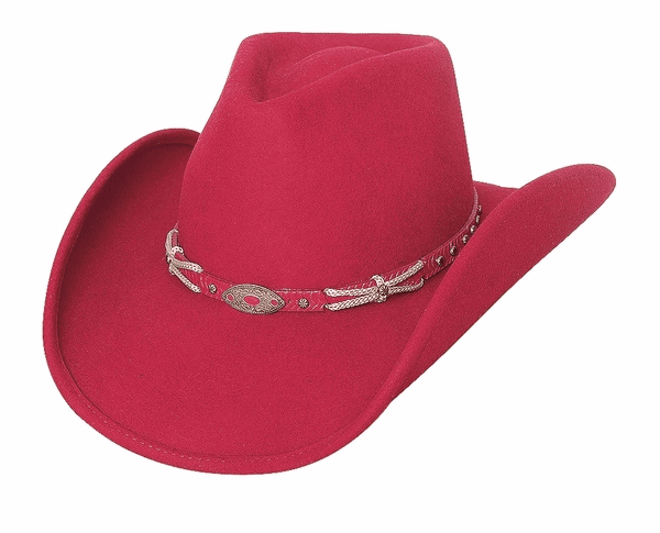 Emotionally Charged Wool Hat Red