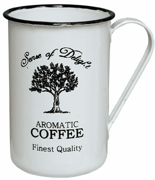 Enamelware Aromatic Coffee Cup