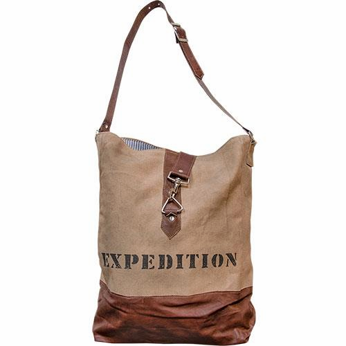 Expedition Canvas Crossbody Bag