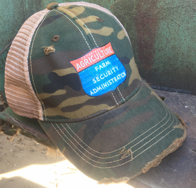Farm Security Distressed Cap Camo