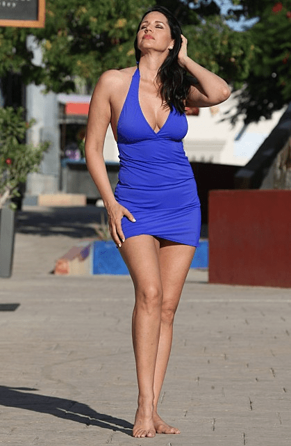 French Riviera Swim Dress Royal Blue (Reg/Plus Size)