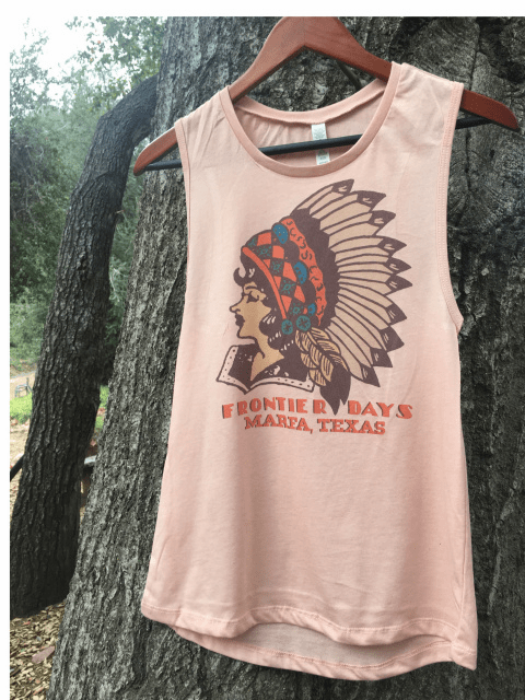 Frontier Days Marfa Texas Muscle Tank