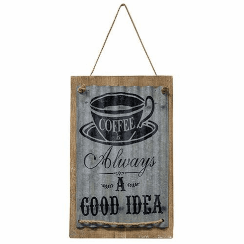 Good Idea Coffee Sign