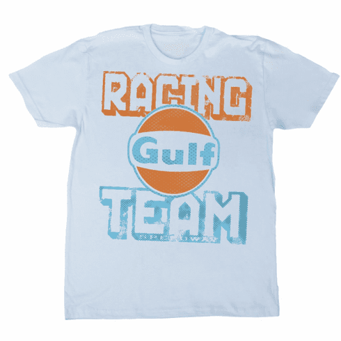 Gulf Racing Team Tee White