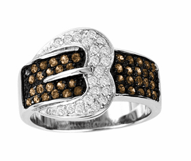 Heart Buckle Ring