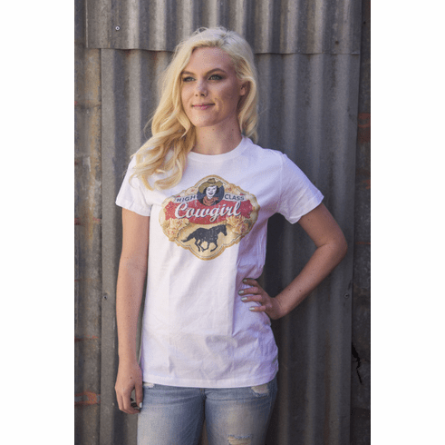 High Class Cowgirl S - 3XL Tee  Original Cowgirl Clothing Co