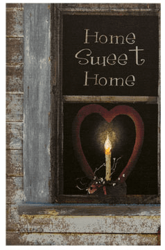 Home Sweet Home Lit Canvas
