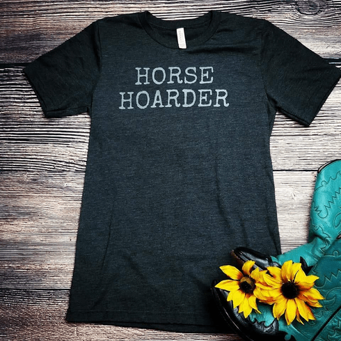 Horse Hoarder Graphic Tee S-2X