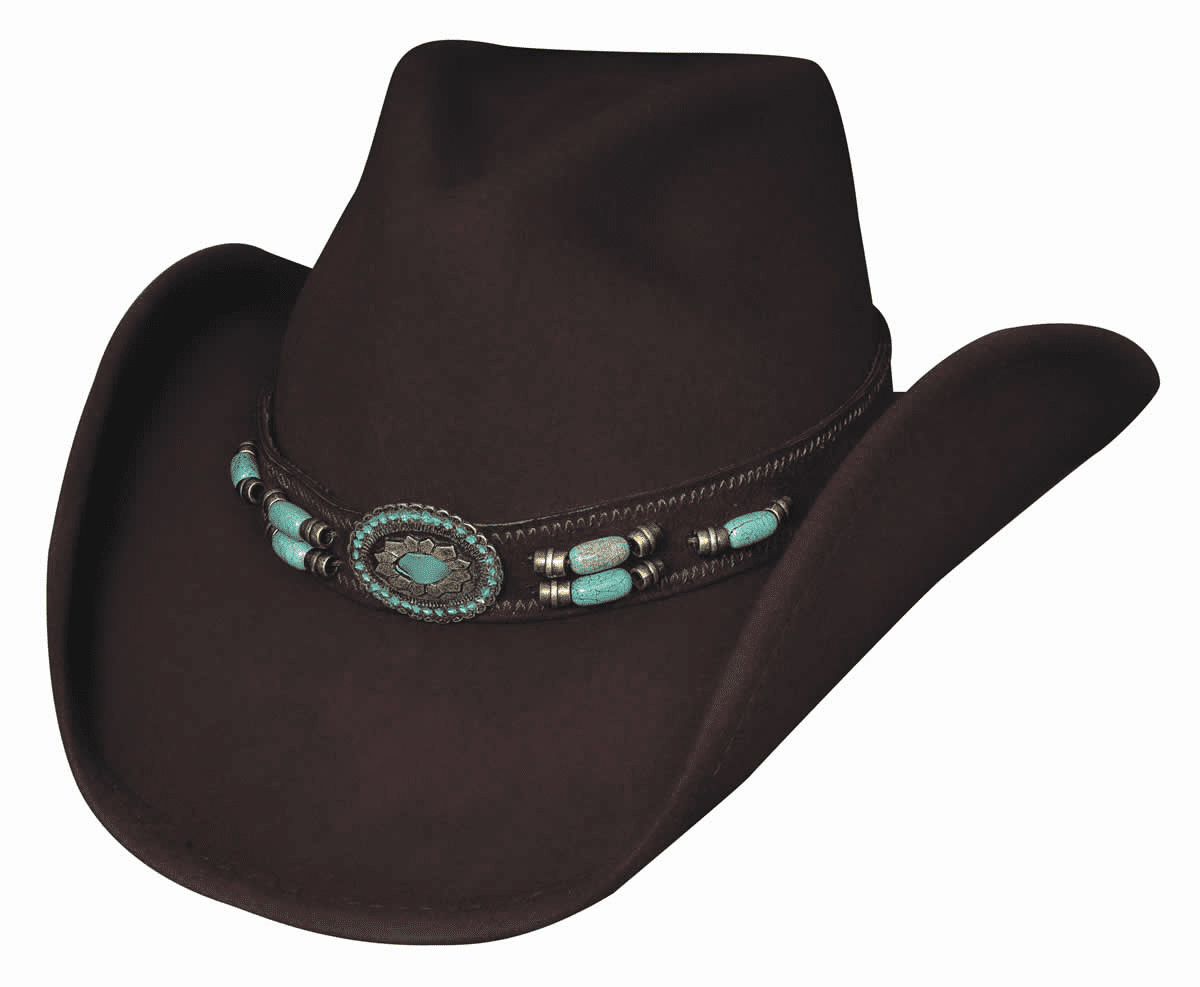 Jewel Of The West Felt Hat
