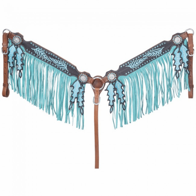 Keely Collection Breastcollar with Fringe