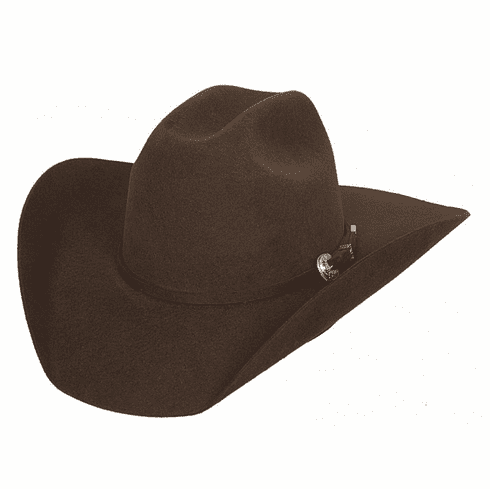 Kingman Cowboy Hat - Chocolate