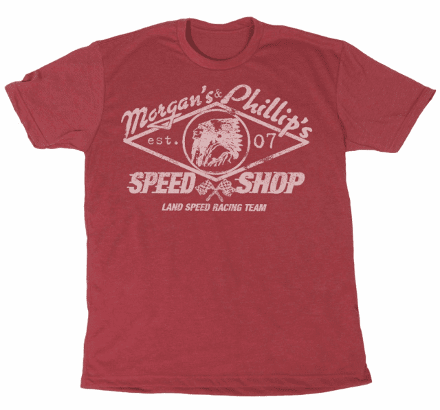 Land Speed Racing Team Tee  Red