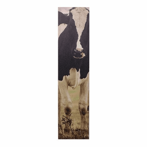 Large Cow Canvas