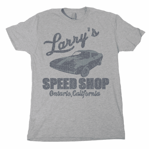 Larry's Speed Shop BASIC Sizes: Small-3XL
