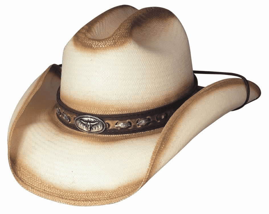 Little Big Horn Straw Hat - Natural