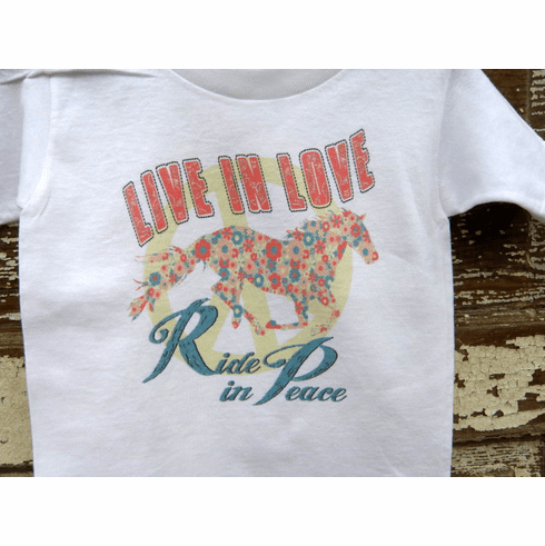 Live in Love Ride in Peace Youth