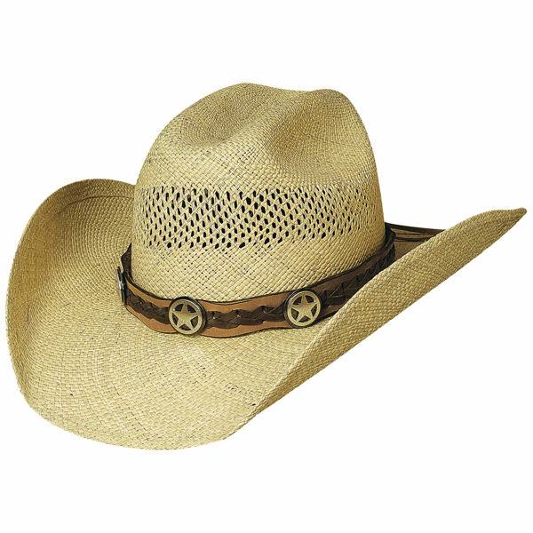Lone Gunman - Shapeable Panama Straw Cowboy Hat