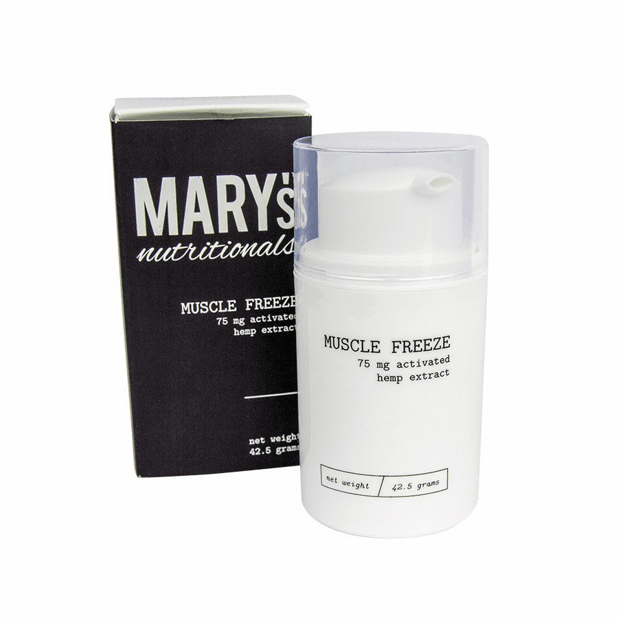 Mary's Nutritionals – CBD Muscle Freeze (75mg CBD)