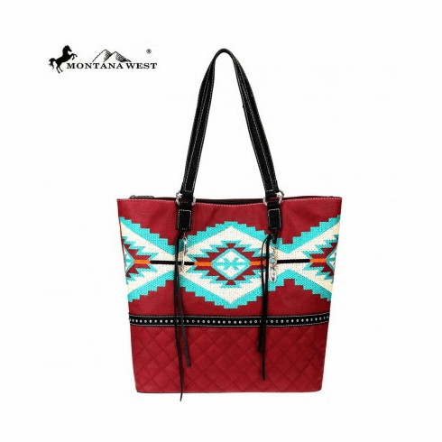Montana West Embroidered Collection Tote