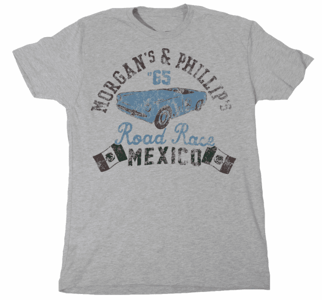 Morgan's and Phillip's Road Race Mexico Tee TM-2500