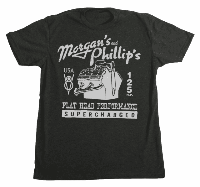 Morgan's & Phillip's Flat Head Performance Tee