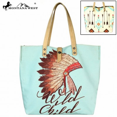 Native American Collection Dual Sided Print Tote